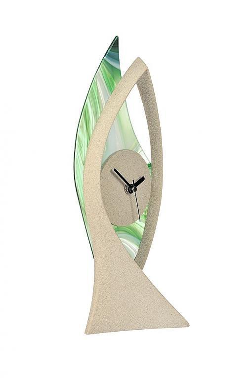 Tischuhr grün