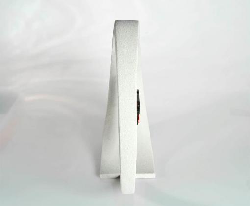 Tischuhr Rückansicht